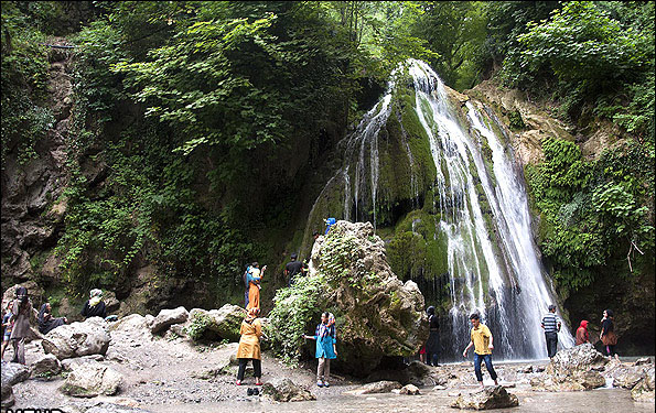 زیباترین و قشنگترین و بی نظیرترین آبشار های استان گلستان + تصویر