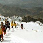 گشت دلپذیر زمستانه در پیست اسکی چلگرد را نباید از دست داد+تصاویر