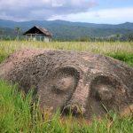 مجسمه ها و مگالیت های دره بادا با شما سخن میگویند+تصاویر