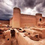 بنای خشتی بسیار دیدنی شبیه ارگ بم در کرمان +تصاویر