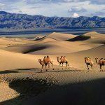 بیابانگردی در عجیب ترین و خارق العاده ترین بیابانهای جهان+تصاویر