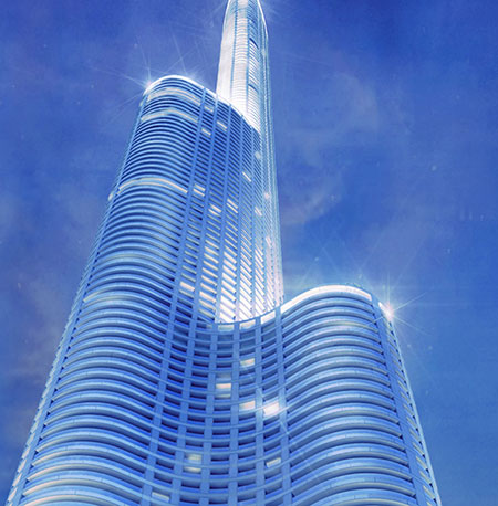 بلندترین برجهای جهان
