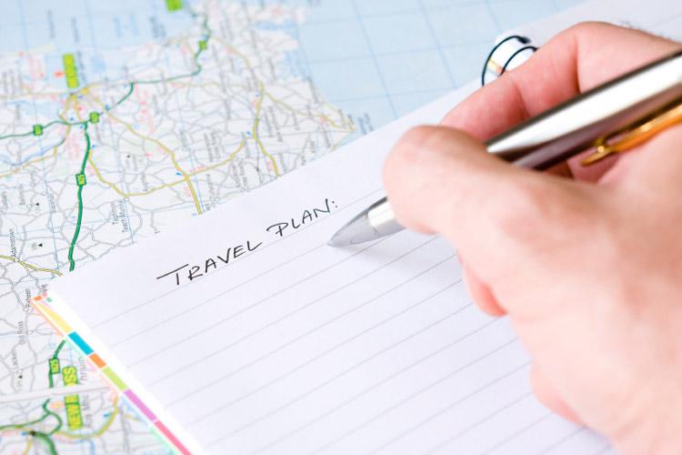 سفر با برنامه ریزی از مهمترین و اولین قدم و جزء جدایی ناپذیر سفر + تصویر