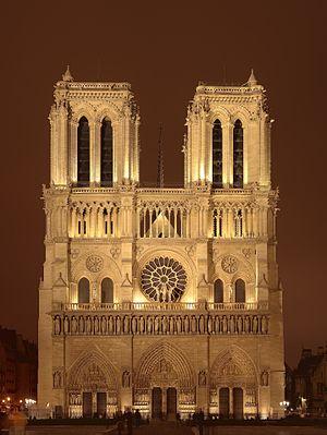 کلیسای نوتردام از جذابترین جاذبه های گردشگری شهر پاریس + تصویر
