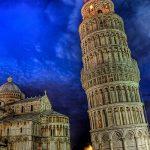 برج پیزا معروفترین و زیبا ترین ساختمان کج در جهان + تصاویر