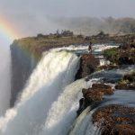 آبشار ویکتوریا بلندترین آبشار جهان با زیبایی خارق العاده + تصاویر