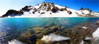 دریاچه های سبلان از جاذبه های طبیعی زیبای اردبیل + تصاویر