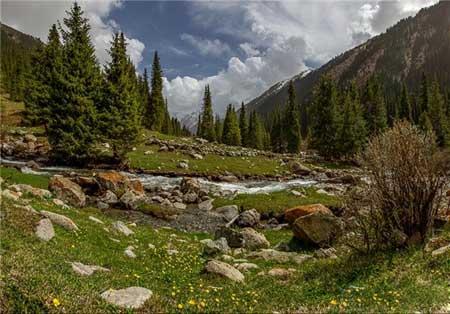 مکان های دیدنی قرقیزستان