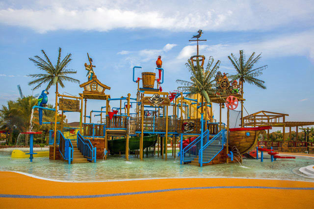 پارک آبی اوشن کیش جدیدترین تفریح در جنوب ایران + تصاویر