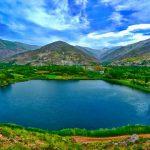 دریاچه گهر،دریاچه زلال یا بهشت گمشده ای در اشترانکوه + تصاویر