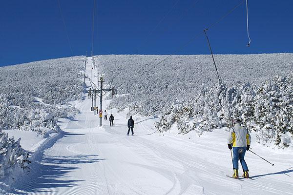 اسکی در برووتس بلغارستان