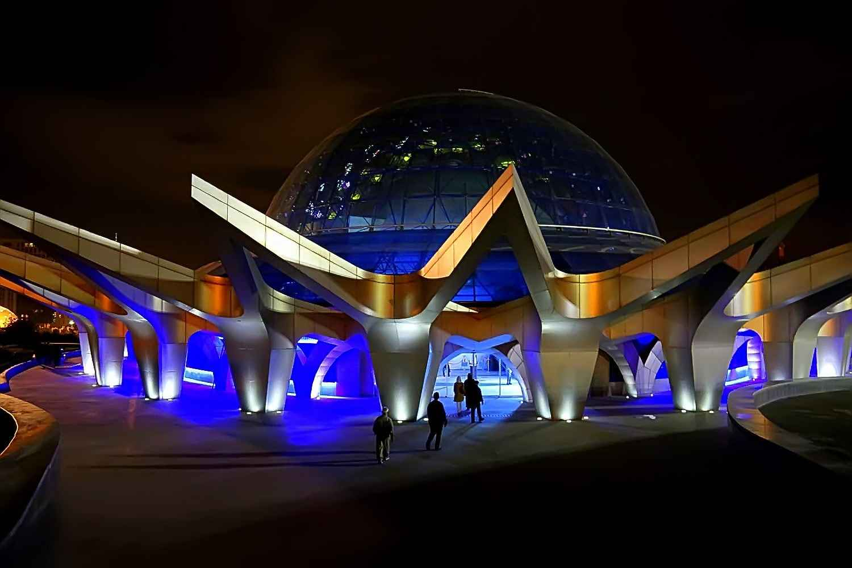 جاذبه گنبد مینای تهران جایی که از تماشای کهکشان و ستارگان لذت می برید