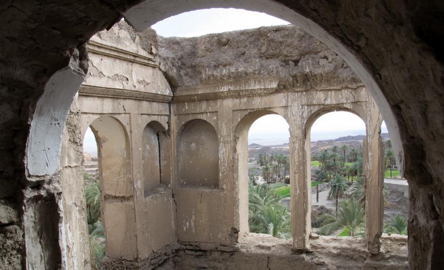 روستای نایبند بیرجند نخلستانی شگفت انگیز در دل کویر