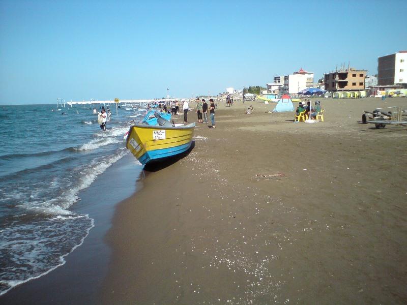 طولانی ترین ساحل ماسه ای خزر مکان توریستی بسیار زیبا