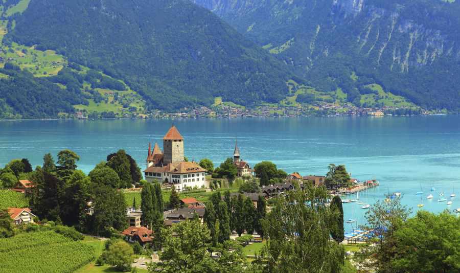 چشم نواز ترین رودخانه ها و زیباترین دریاچه های سوییس
