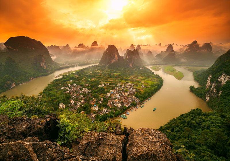 خوش منظره ترین و زیباترین شهرهای چین برای سفر رویایی