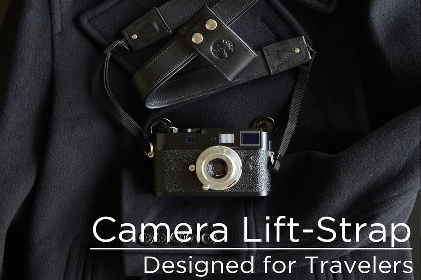 بند دوربین لیفت استرپ دگرگونی در عکاسی سفری