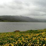 درياچه نئور اردبيل بزرگترین دریاچه طبیعی در دره هاي کوهستان باغرو