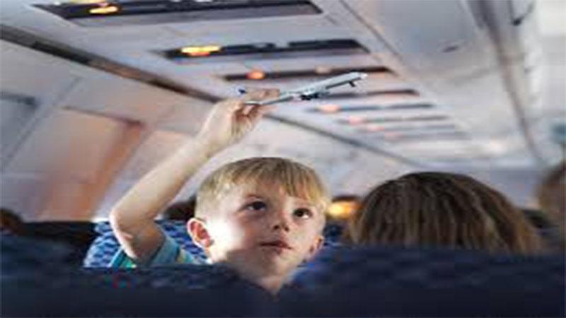 ایمنی کودکان در سفرهای هوایی