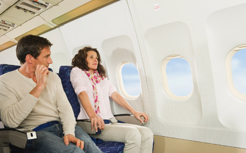 راههای مقابله و از بین بردن ترس از پرواز در سفر هوایی