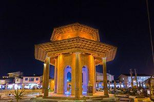 آرامگاه میرزا کوچک خان مرد بزرگ شمال ایران