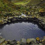 چشمه آب گرم اهرم یکی از بهترین چشمه های آب گرم ایران