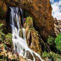 آبشار آبسفید عروس زیبای آبشارهای ایران