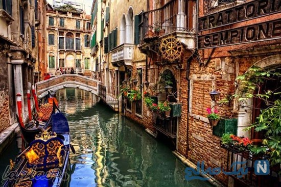 نمایی از شهر ونیز ایتالیا