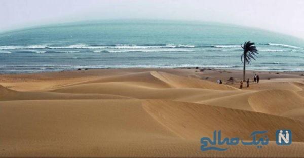 ساحل زیبای درک چابهار