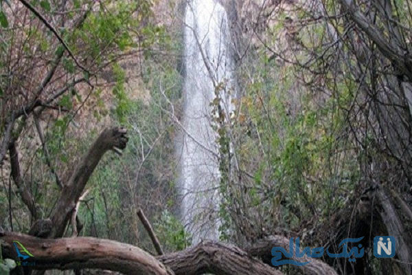 آبشار آب گرم