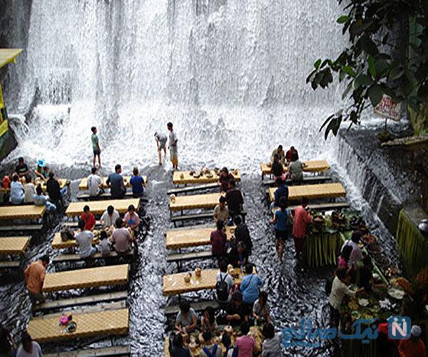 زیبایی های طبیعت در رستوران ویلا اسکودرو کشور فیلیپین