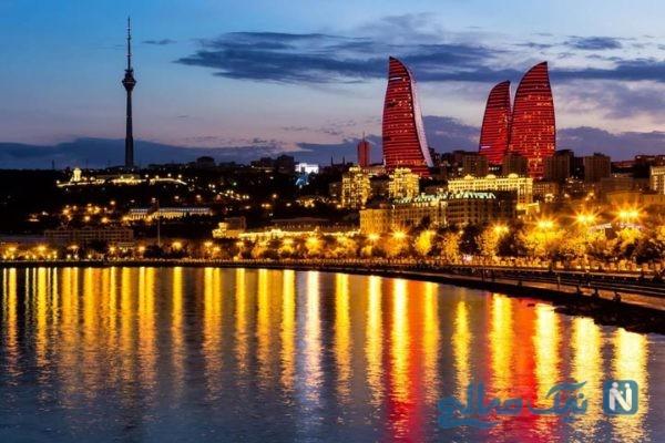 معروفترین جاذبه های دیدنی و گردشگری باکو آذربایجان