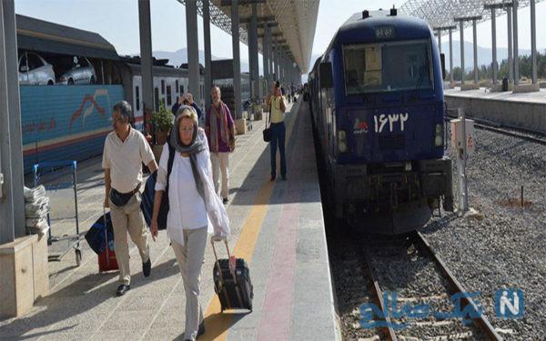 راه آهن شیراز