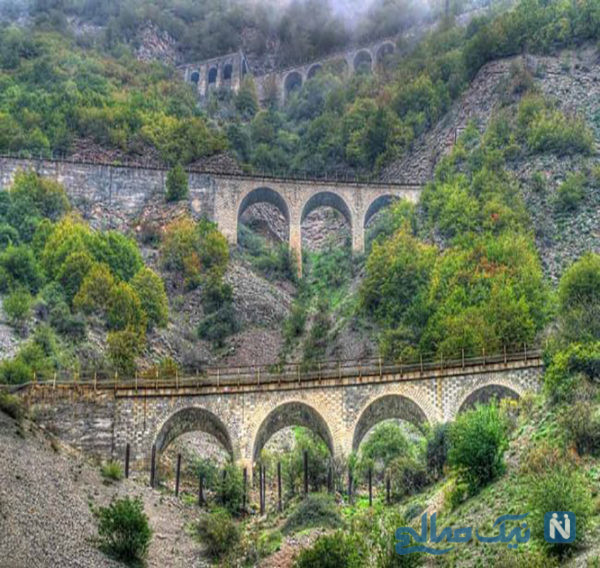 با پل ورسک از بزرگترین پل های راه آهن ایران آشنا شوید