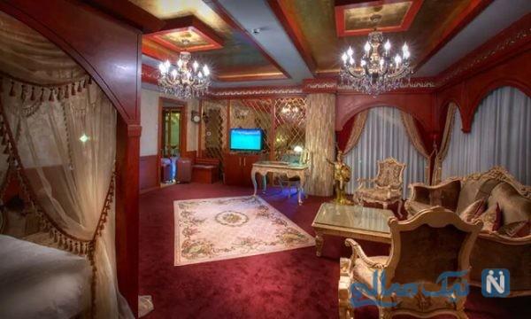 اتاق های فصل هتل درویشی مشهد