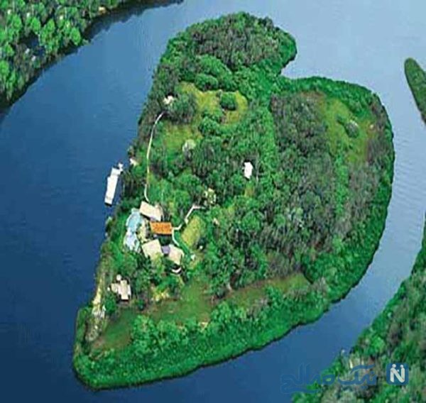 مکان های دیدنی دنیا که شبیه قلب است