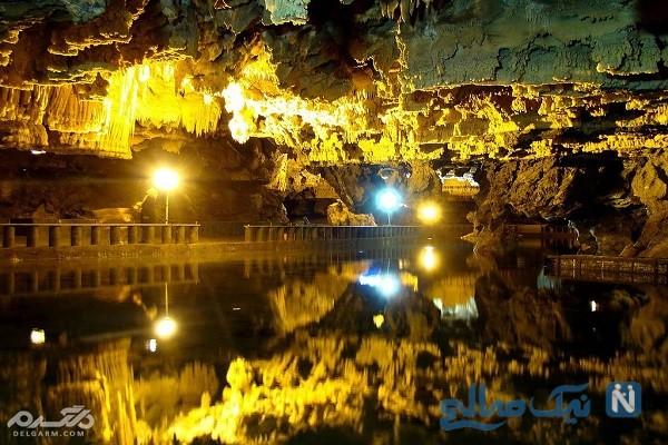 غار علیصدر همدان اسرارآمیزترین غار ایران