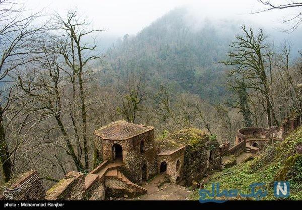 قلعه رودخان از نمایی دیگر