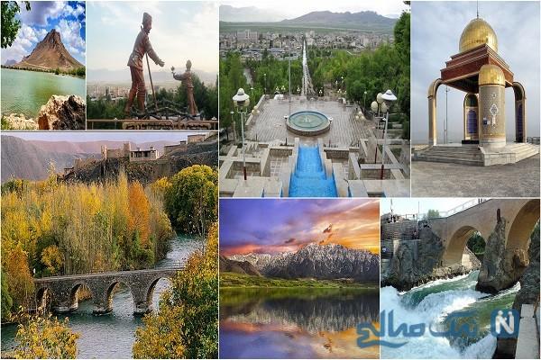 جاذبه های گردشگری شهرکرد ؛ مرتفع ترین شهر ایران