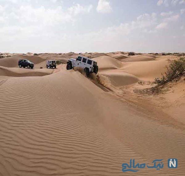 کویر شنی وهیبه، رمال اَلوَهیبه (Wahiba Sands) از جاذبه های گردشگری عمان