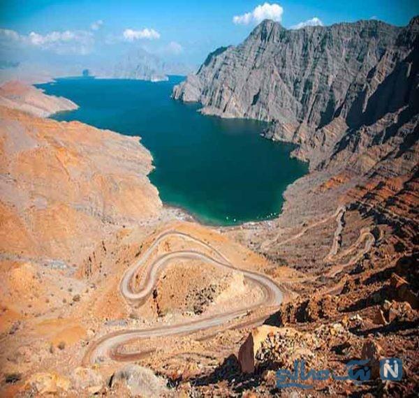 شبه جزیره مسَندَم (Musandam Fjords) از جاذبه های گردشگری عمان