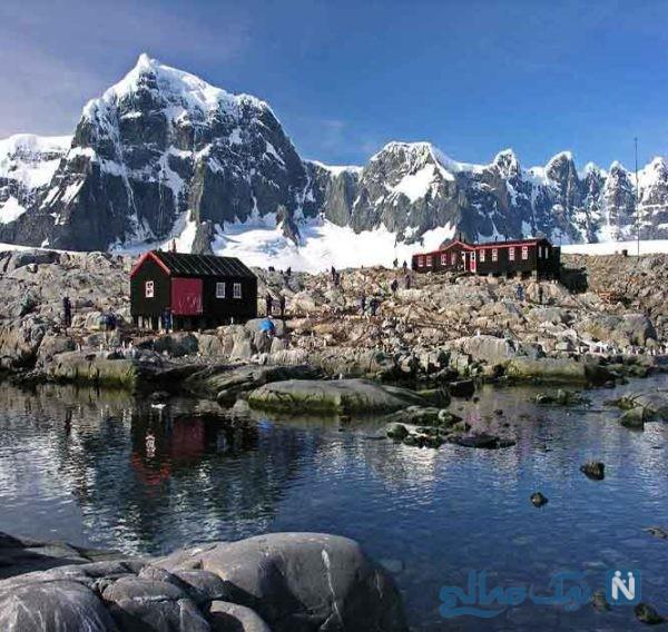 تصاویری دیدنی از قطب جنوب