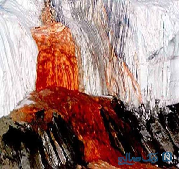 آبشار خون قطب جنوب