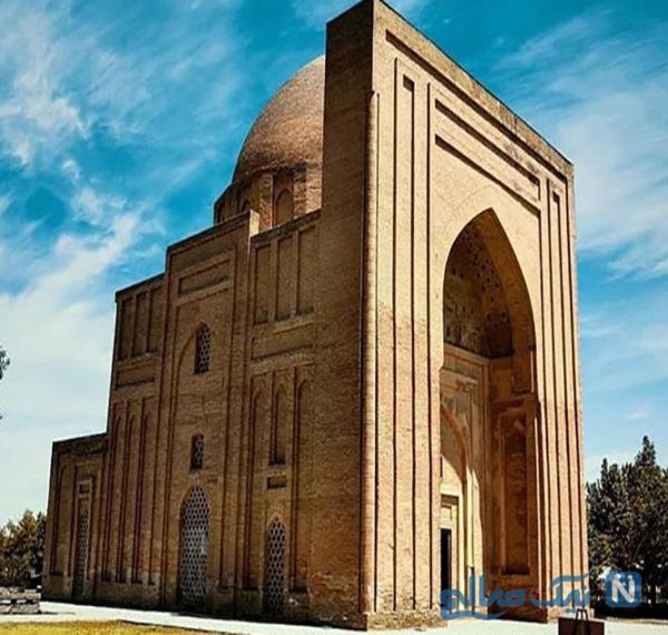 گنبد هارونیه ، یادگاری از توس و یکی از جاهای دیدنی مشهد
