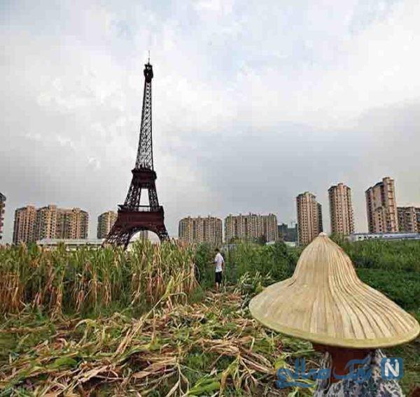 مکان های تقلید شده در چین