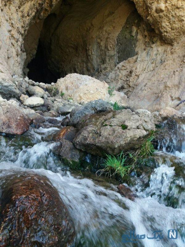 غار و چشمه