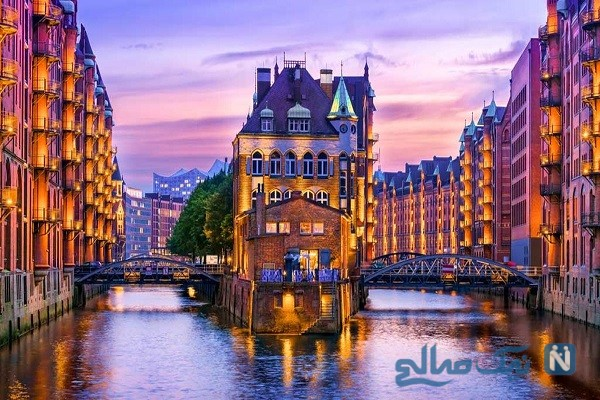 جاذبه های دیدنی هامبورگ آلمان