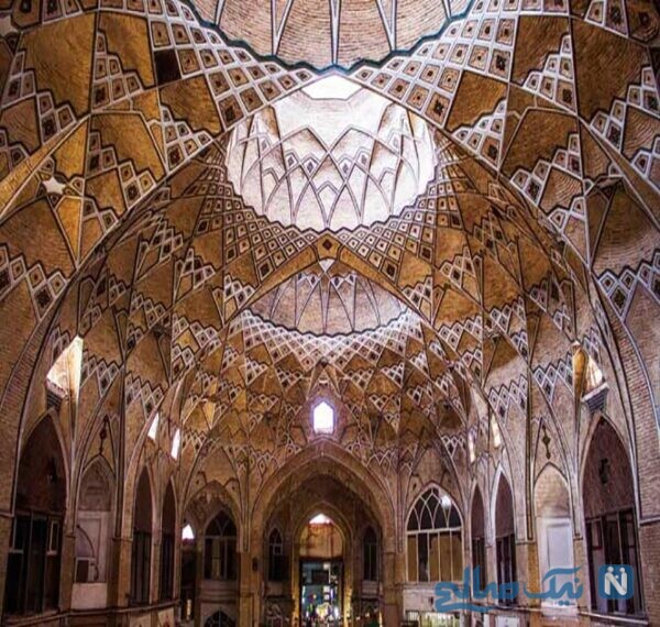 بازار قدیمی قم ، جلوهای از هنر معماری بینظیر ایرانی