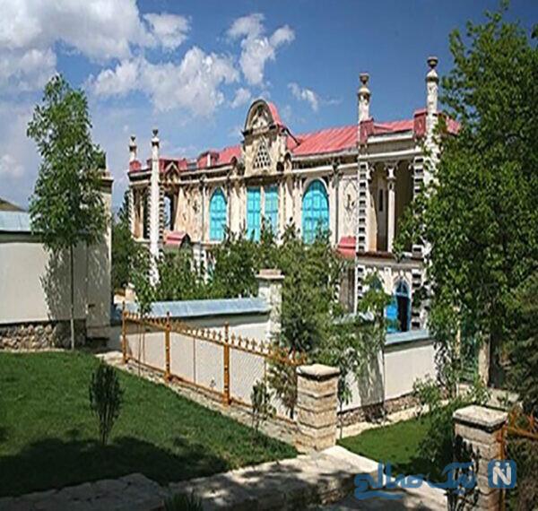 کاخ موزه زیبای باغچه جوق در ماکو