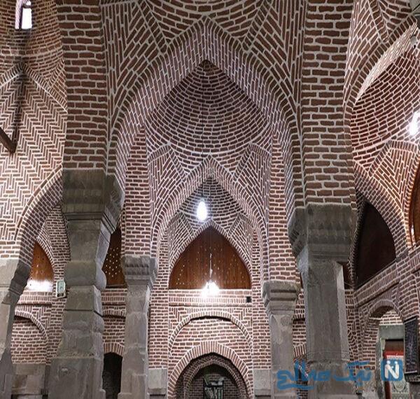 مسجد سنگی ترک میانه